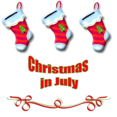 christmas in July at Marco Polo Land