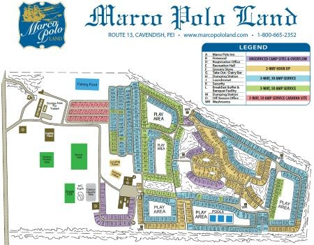 Maro Polo Land Map 2018 - small